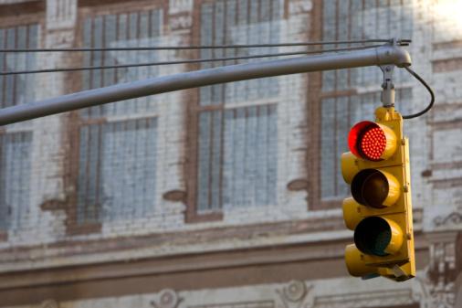 Tim Graham「Traffic Light, New York, USA」:スマホ壁紙(18)