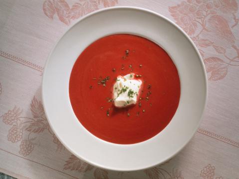 Sour Cream「Red Beet-Cream Soup」:スマホ壁紙(2)