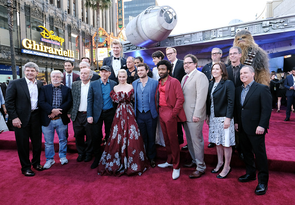 """Alan Horn「Stars And Filmmakers Attend The World Premiere Of """"SOLO: A Star Wars Story"""" In Hollywood」:写真・画像(18)[壁紙.com]"""