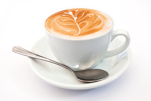 Latte「フラットホワイトコーヒー」:スマホ壁紙(3)