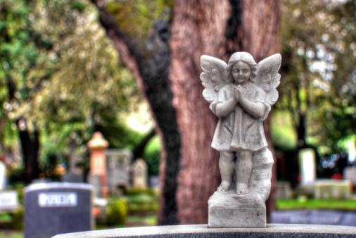 Praying「Tombstone Angel (HDR)」:スマホ壁紙(19)