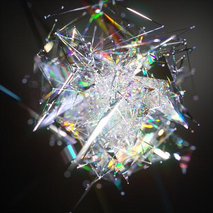 Quantum Computing「Abstract data visuaisation」:スマホ壁紙(5)