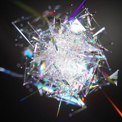 Quantum Computing「Abstract data visuaisation」:スマホ壁紙(13)