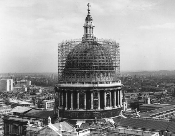 Scaffolding「St Paul's Cathedral」:写真・画像(14)[壁紙.com]