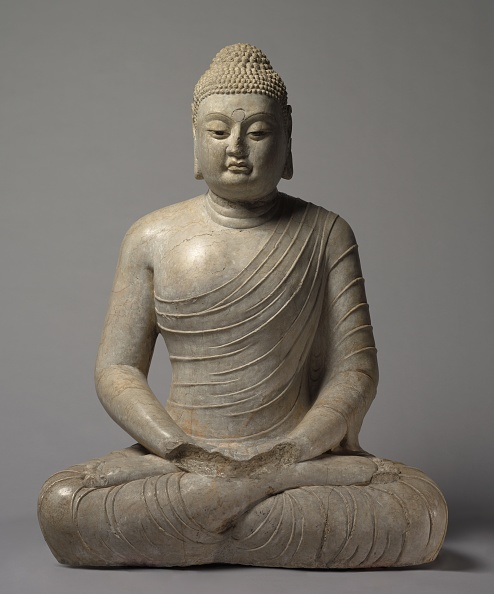 Sculpture「Seated Amitayus Buddha」:写真・画像(2)[壁紙.com]