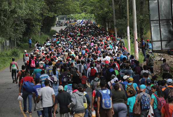 Immigrant「Migrant Caravan Pushes North Into Guatemala」:写真・画像(7)[壁紙.com]