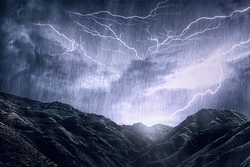 Wilderness Area「Mother Nature unleashes her rage」:スマホ壁紙(15)