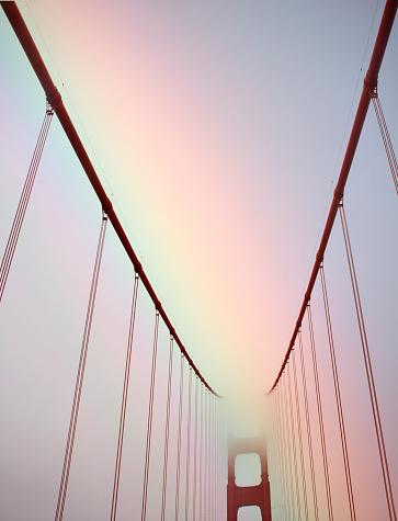 金運「View of famous bridge details.」:スマホ壁紙(18)