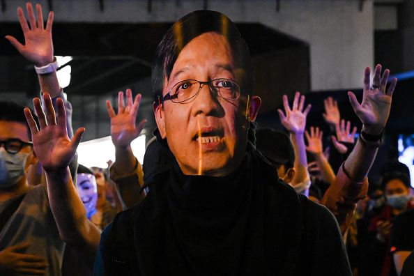 Billy H.C「Anti-Government Protests Continue in Hong Kong」:写真・画像(16)[壁紙.com]