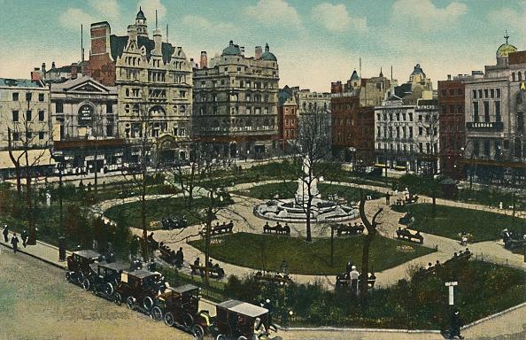 Hand Colored「Leicester Square」:写真・画像(5)[壁紙.com]