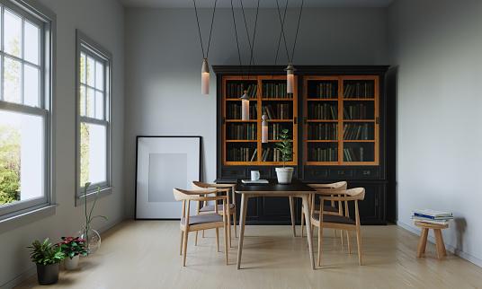 Parquet Floor「Simple Room Interior」:スマホ壁紙(13)
