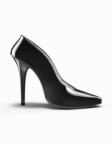 Girly「Black high-heeled shoe」:スマホ壁紙(14)