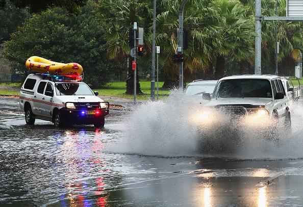 Sydney「Heavy Rain Lashes Sydney As East Coast Low Moves Through NSW」:写真・画像(13)[壁紙.com]