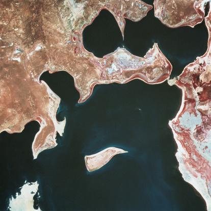 アラル海「Aral Sea」:スマホ壁紙(2)