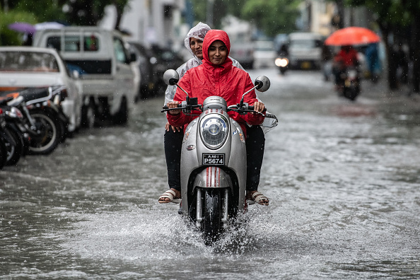 Torrential Rain「The Maldives - On The Front Line Of Climate Change」:写真・画像(18)[壁紙.com]