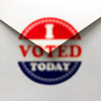 Voting Ballot「Vote by mail / I voted today」:スマホ壁紙(2)
