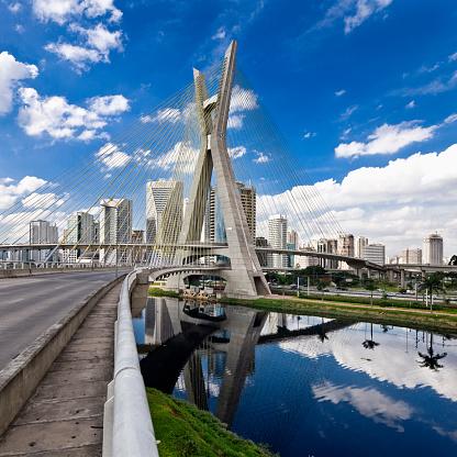 São Paulo「Puente (bridge) Octavio Frias de Oliveira」:スマホ壁紙(12)