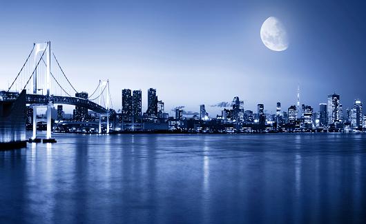 City Life「Tokyo at night」:スマホ壁紙(12)