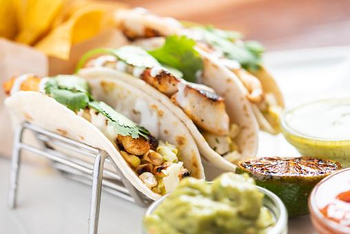 Tortilla - Flatbread「Fish Tacos」:スマホ壁紙(18)