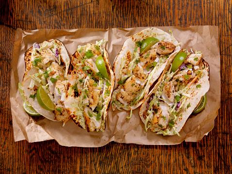 Tortilla - Flatbread「Fish Tacos」:スマホ壁紙(2)