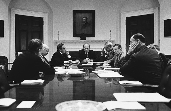 Decisions「President Ford Meets with his National Security Council」:写真・画像(7)[壁紙.com]