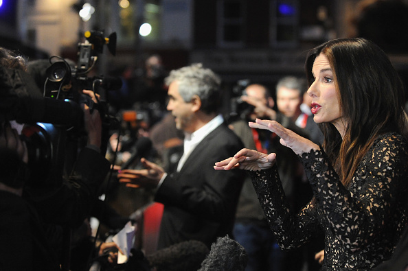 "Odeon Leicester Square「""Gravity"" - Red Carpet Arrivals: 57th BFI London Film Festival」:写真・画像(15)[壁紙.com]"