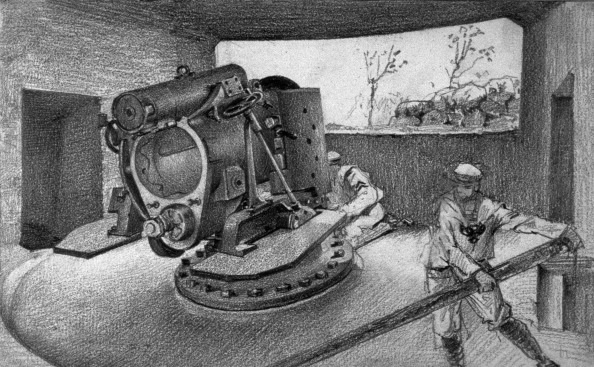 United States Army Corps of Engineers「Heavy Artillery In A Bunker」:写真・画像(2)[壁紙.com]