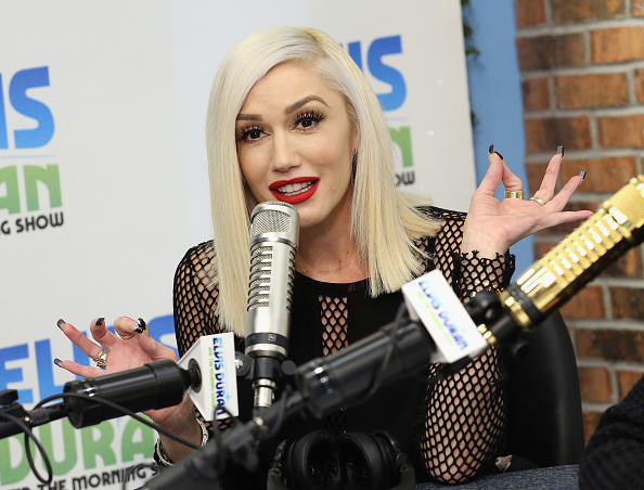 Gwen Stefani「Gwen Stefani Visits 'The Elvis Duran Z100 Morning Show'」:写真・画像(3)[壁紙.com]