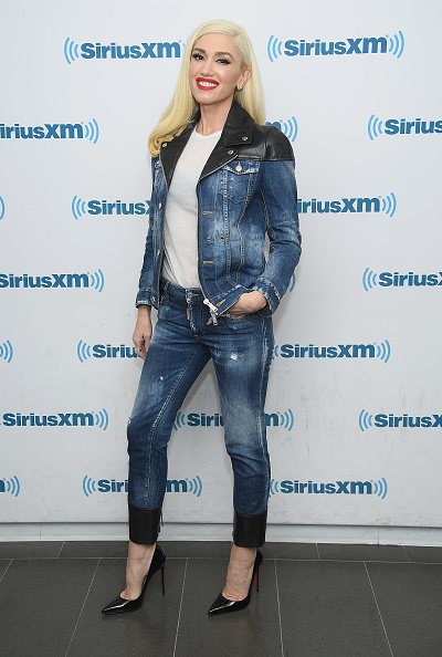 Double Denim「Gwen Stefani Visits SiriusXM - November 21, 2017」:写真・画像(4)[壁紙.com]