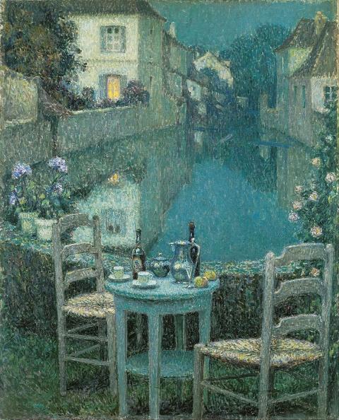 静物「Small Table In Evening Dusk 1921」:写真・画像(5)[壁紙.com]