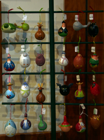 Gift Shop「Colocynth dried and painted, Christmas decoration」:スマホ壁紙(5)