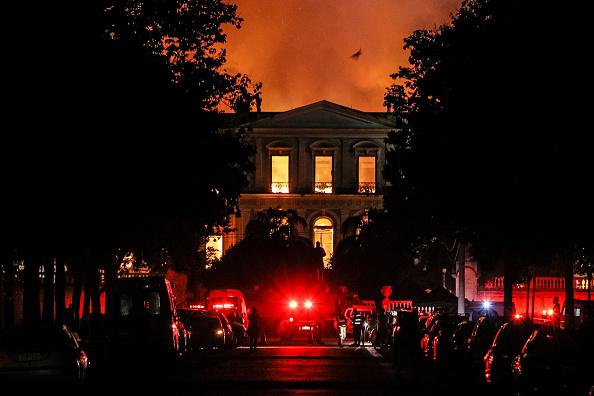 Brazil「Fire Blazes At Iconic National Museum of Brazil」:写真・画像(16)[壁紙.com]