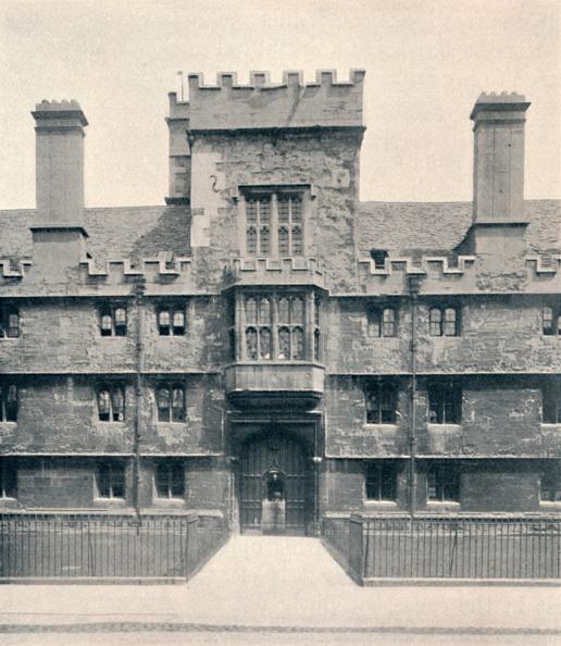 University「The Gateway, Wadham College, Oxford, 1903」:写真・画像(6)[壁紙.com]