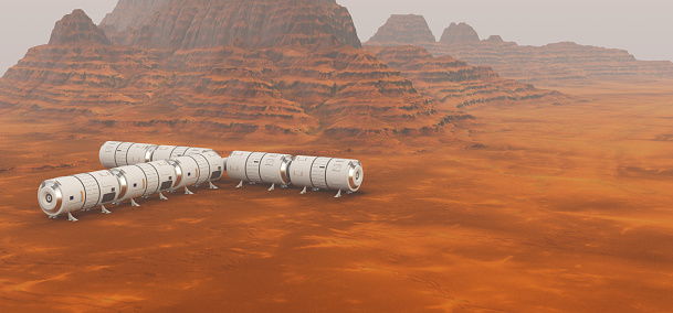 探求「Mars exploration mission」:スマホ壁紙(7)