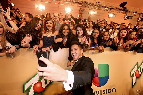 MGM Grand Garden Arena「15th Annual Latin GRAMMY Awards - Green Carpet」:写真・画像(18)[壁紙.com]