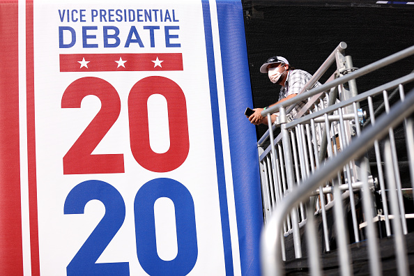 Debate「Salt Lake City Prepares For Vice Presidential Debate」:写真・画像(11)[壁紙.com]