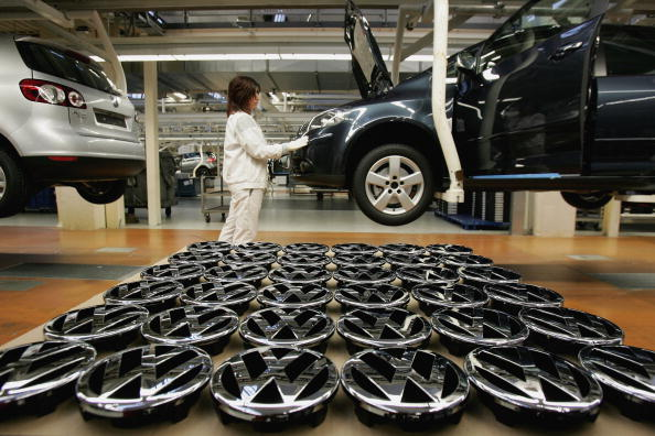 Wolfsburg - Lower Saxony「Press Day At Volkswagen Factory」:写真・画像(3)[壁紙.com]