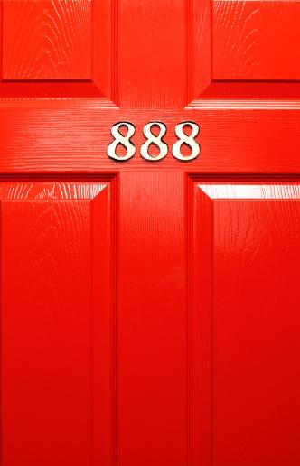 Number 8「Lucky front door number」:スマホ壁紙(11)