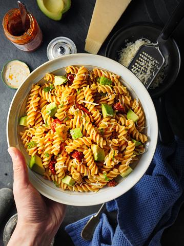 Hand「Pasta salad」:スマホ壁紙(4)