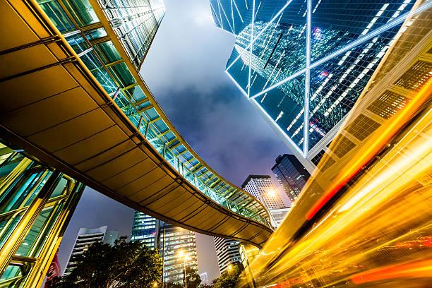 Downtown Hong Kong:スマホ壁紙(壁紙.com)