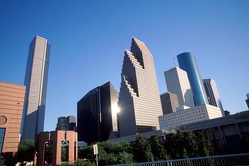 Postmodern「Downtown Houston - Texas」:スマホ壁紙(13)