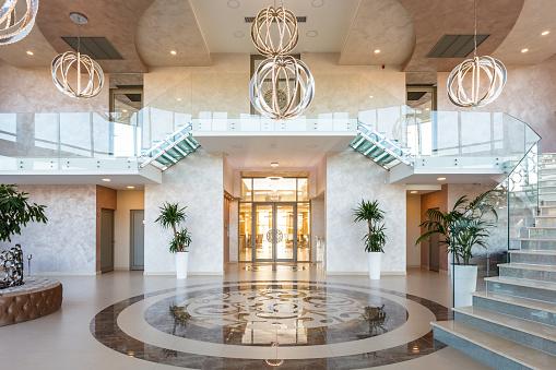 Luxury Hotel「Modern hotel lobby」:スマホ壁紙(12)