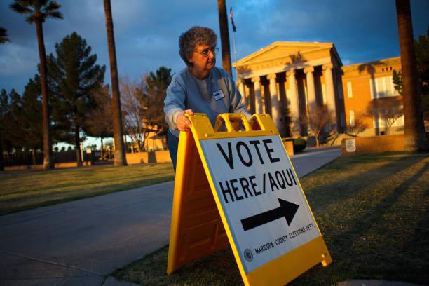 Arizona Holds Presidential Primary:ニュース(壁紙.com)