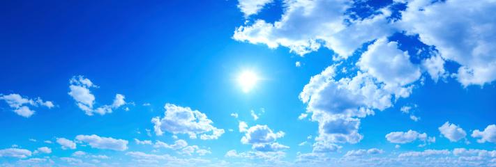 cloud「ブルースカイのパノラマ」:スマホ壁紙(10)