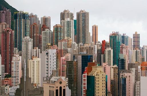 Side By Side「Hong Kong cityscape」:スマホ壁紙(12)
