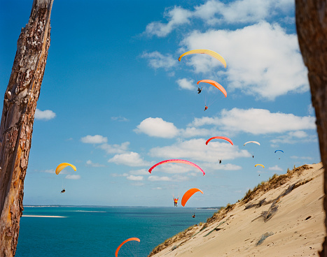 Paragliding「Bay of Arcachon」:スマホ壁紙(2)