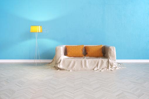 Living Room「Sofa Floor」:スマホ壁紙(8)