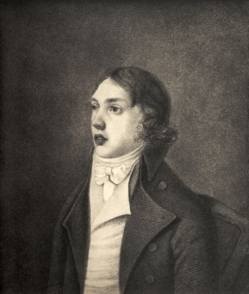 Romance「Samuel Taylor Coleridge after the portrait by Robert Hancock, 1796.」:写真・画像(1)[壁紙.com]