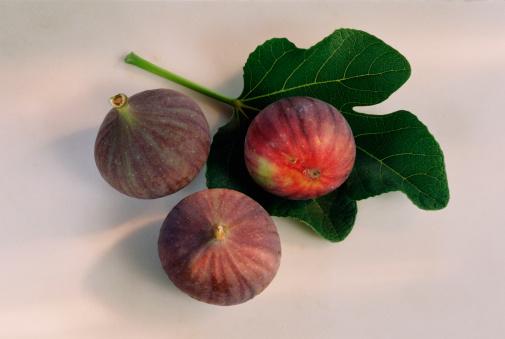 イチジク「Figs with leaf」:スマホ壁紙(17)