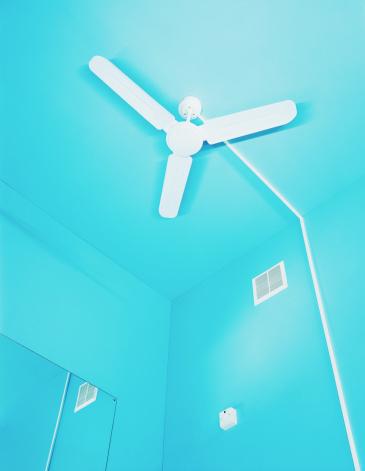Ceiling Fan「Ceiling fan, low angle view」:スマホ壁紙(16)